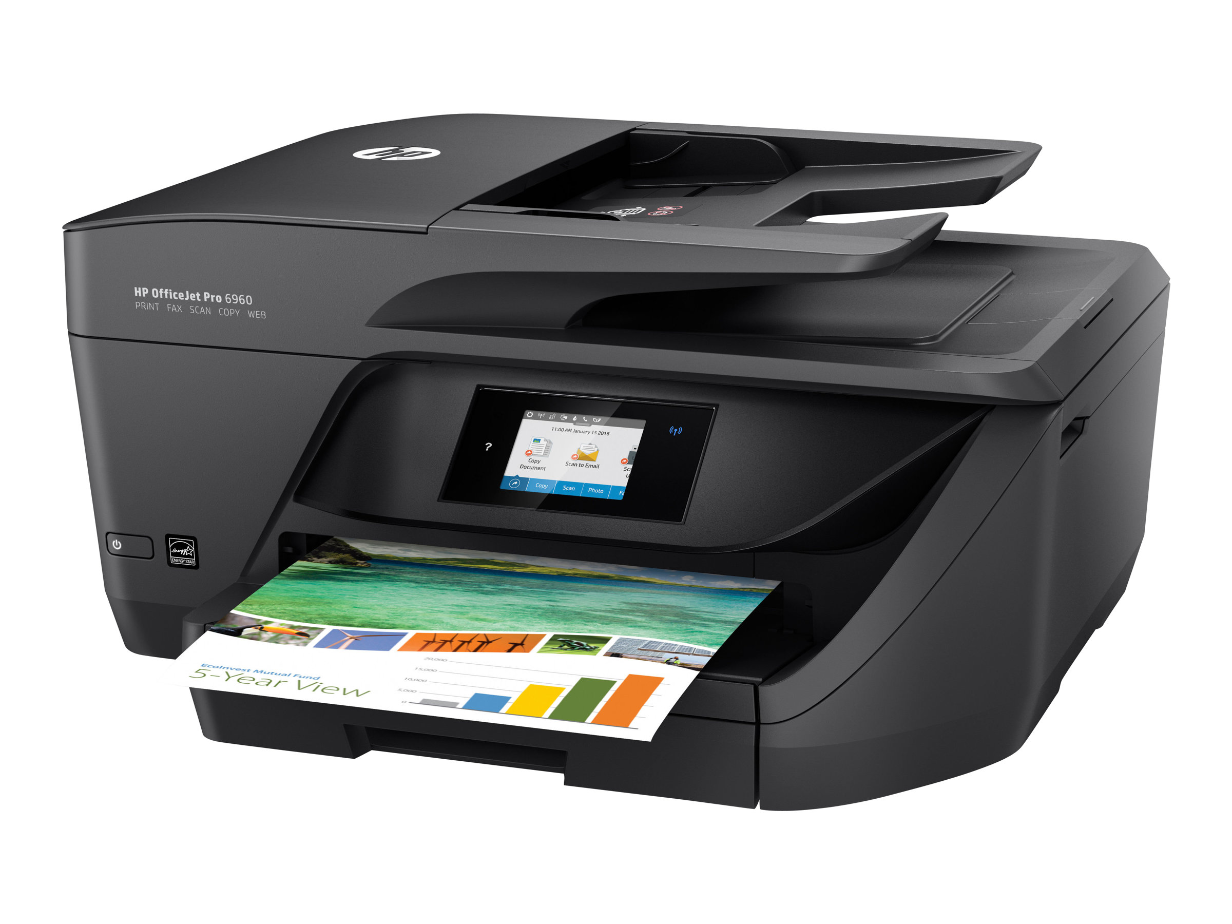 HP Officejet Pro 6960 e-All-in-One, Tinte, MFP, A4