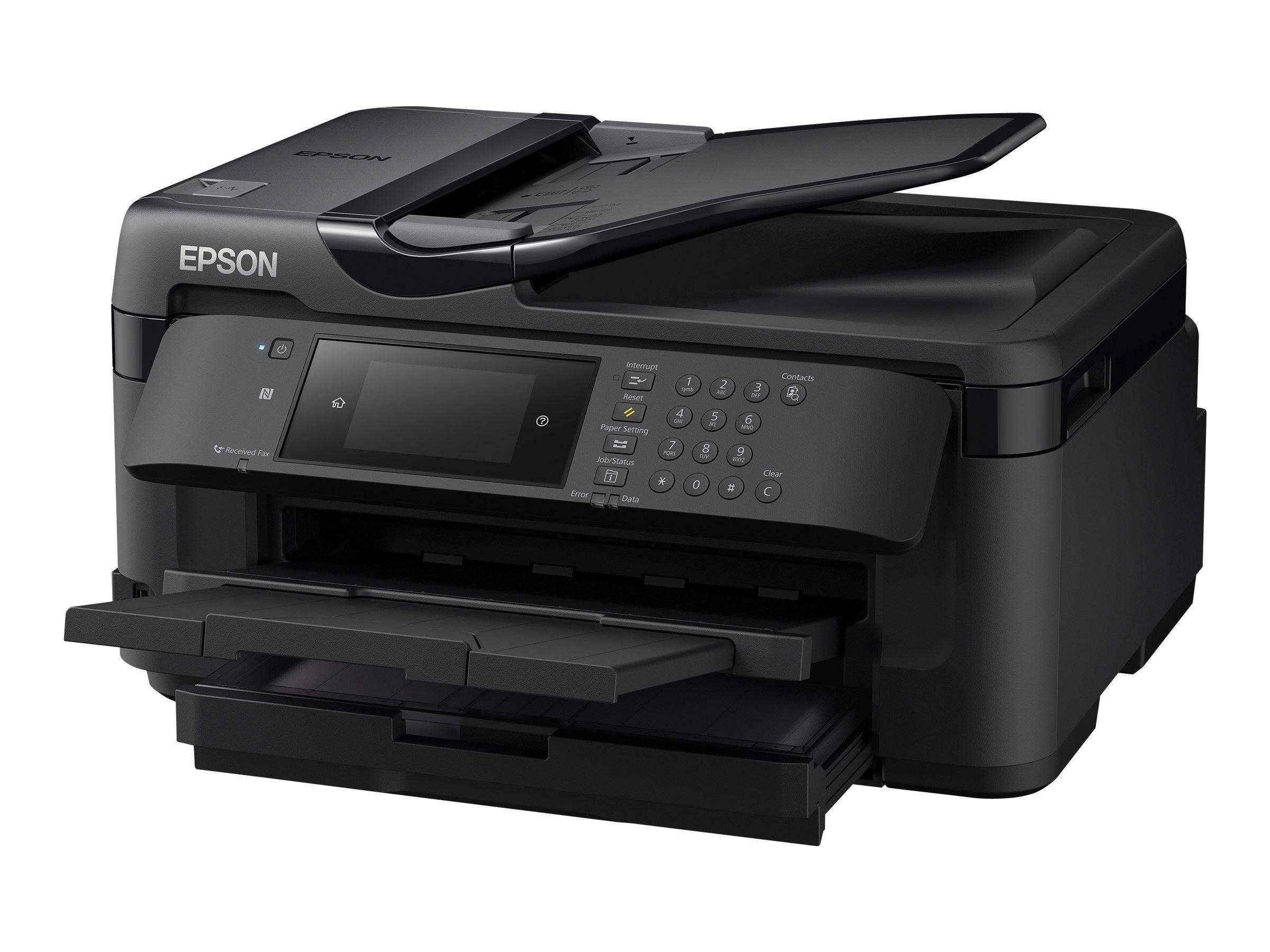 Epson WorkForce WF-7710DWF - Multifunktionsdrucker - Farbe - Tintenstrahl - A3 (Medien)