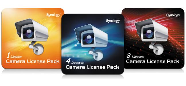 Synology Surveillance Device License Pack - Lizenz