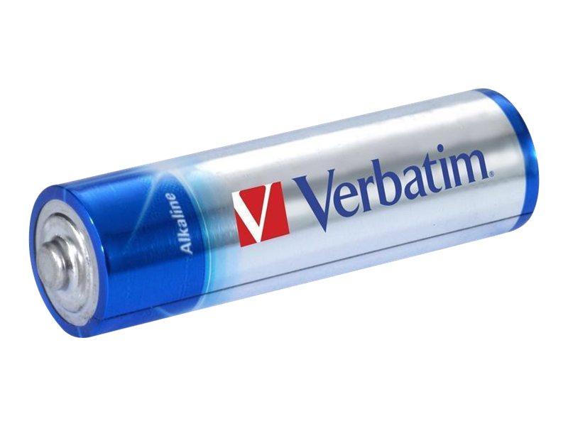 Verbatim Batterie 4 x AA-Typ - Alkalisch