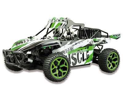 Amewi D5 1:18 4WD RTR - Buggy - Elektromotor - 1:18 - Betriebsbereit (RTR) - Schwarz - Grün - Allradantrieb