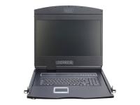 DS-72211 Konsolenregal 48,3 cm (19 Zoll) 1366 x 768 Pixel Schwarz 1U
