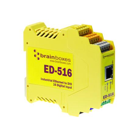 Brainboxes ED516 Yellow 235 x 170 x 62 mm 515 g
