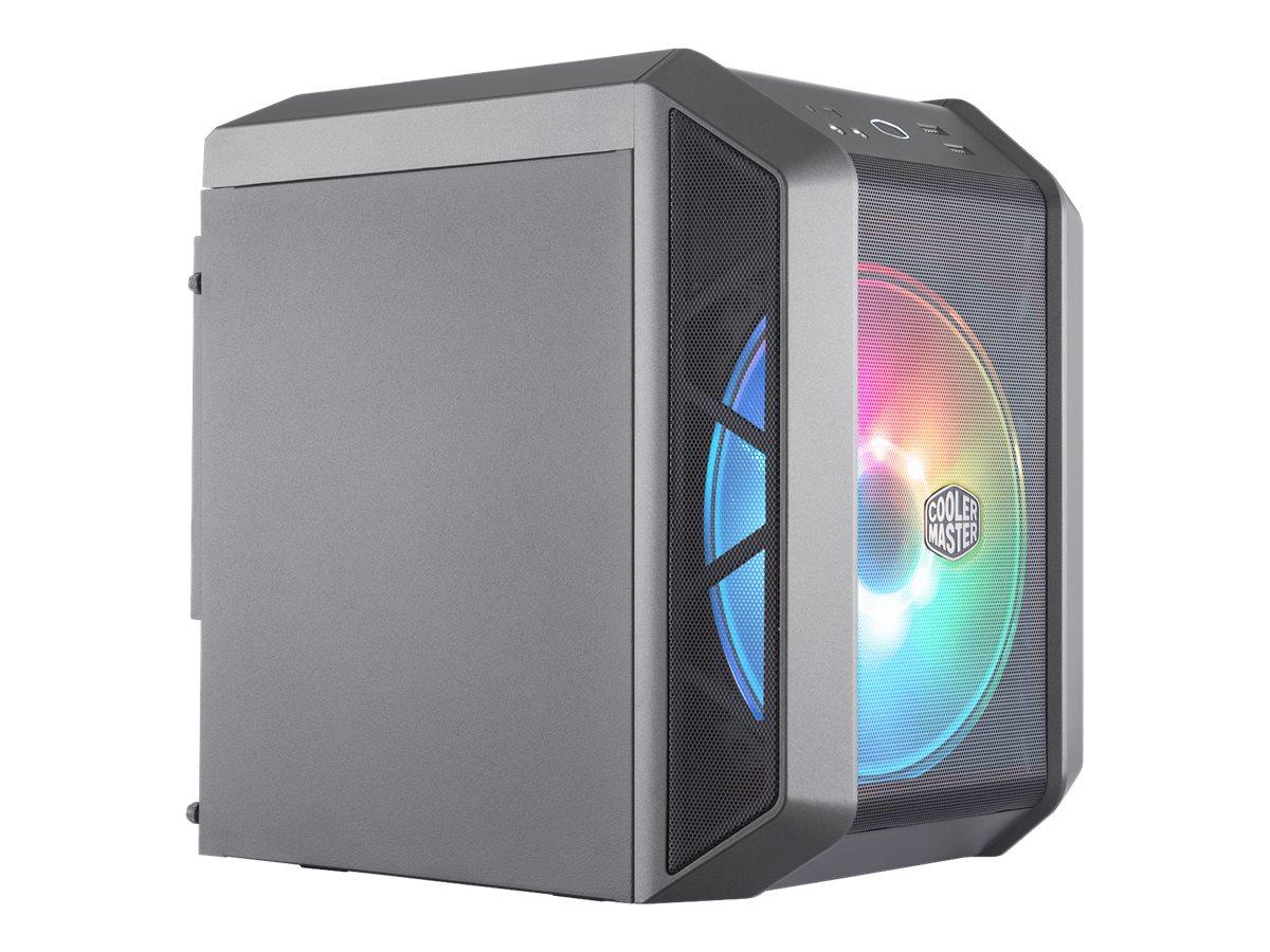 Vorschau: Cooler Master MasterCase H100 ARGB - Tower - Mini-ITX - ohne Netzteil (ATX / PS/2)