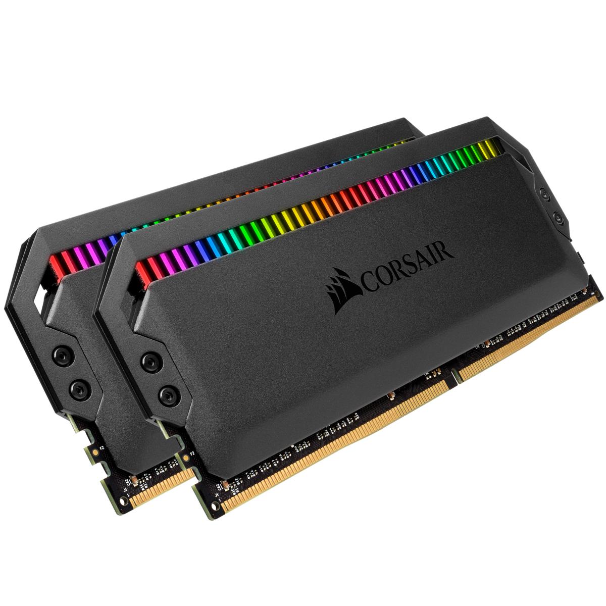 Vorschau: Corsair Dominator CMT32GX4M2D3600C18 - 32 GB - 2 x 16 GB - DDR4 - 3600 MHz