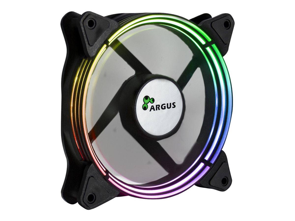 Inter-Tech Argus Valo 1201 RGB - Gehäuselüfter - 120 mm