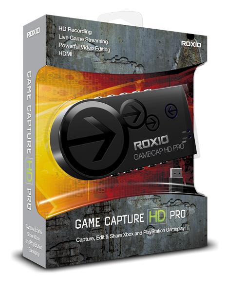 Corel Roxio Game Capture HD Pro USB 2.0 Video-Aufnahme-Gerät