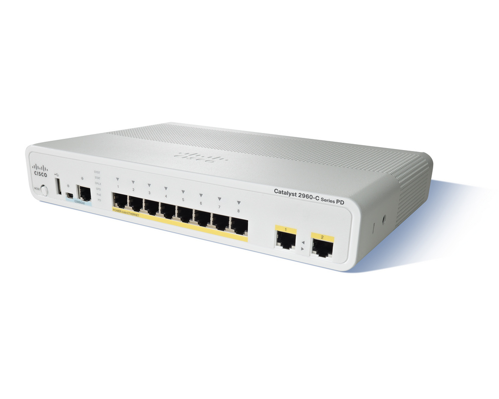 Cisco Catalyst 2960CPD-8PT-L Switch (WS-C2960CPD-8PT-L)