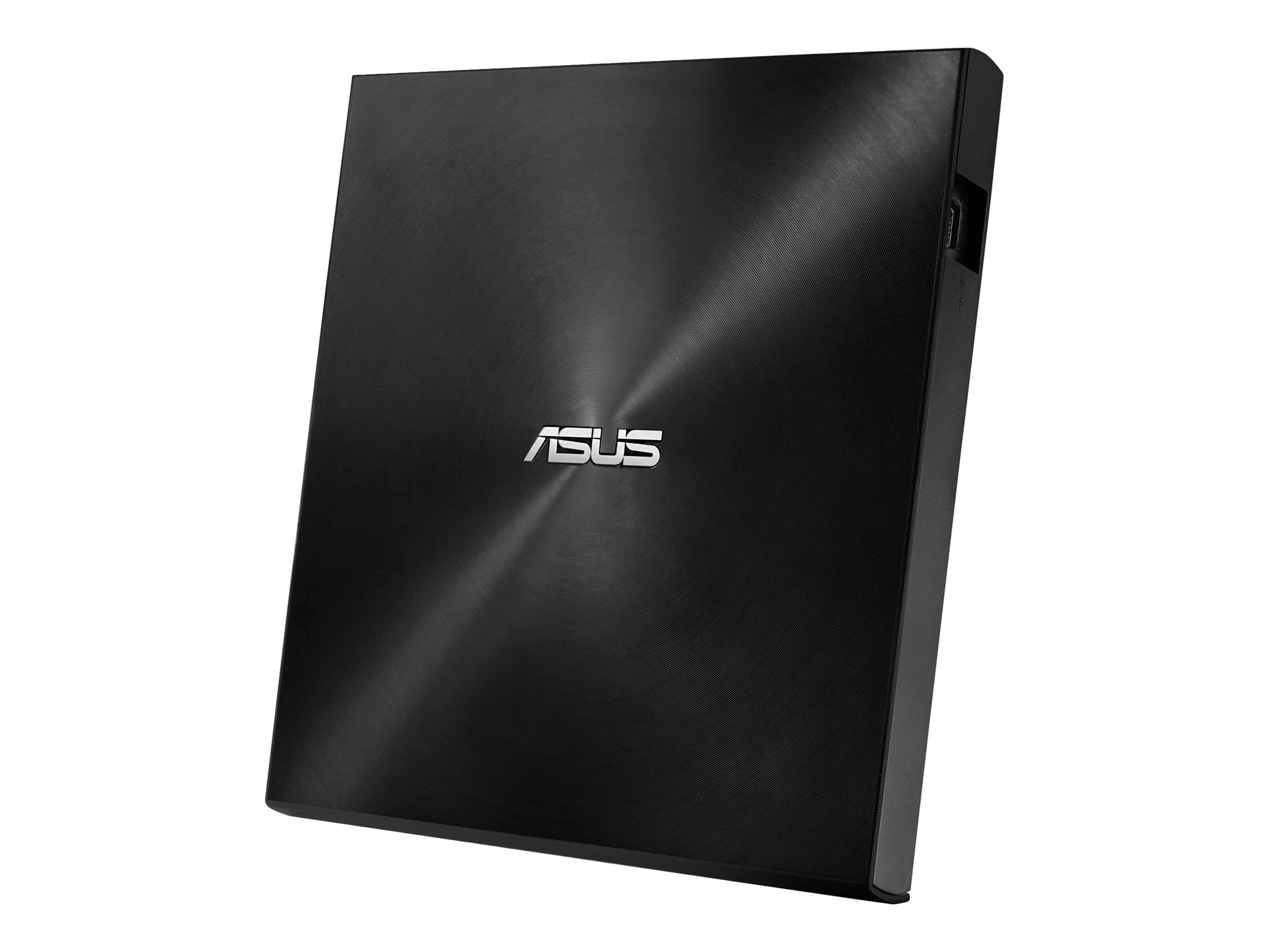 ASUS ZenDrive U7M SDRW-08U7M-U Laufwerk - DVD±RW (±R DL) / DVD-RAM - 8x/8x/5x - USB 2.0 - extern - Schwarz