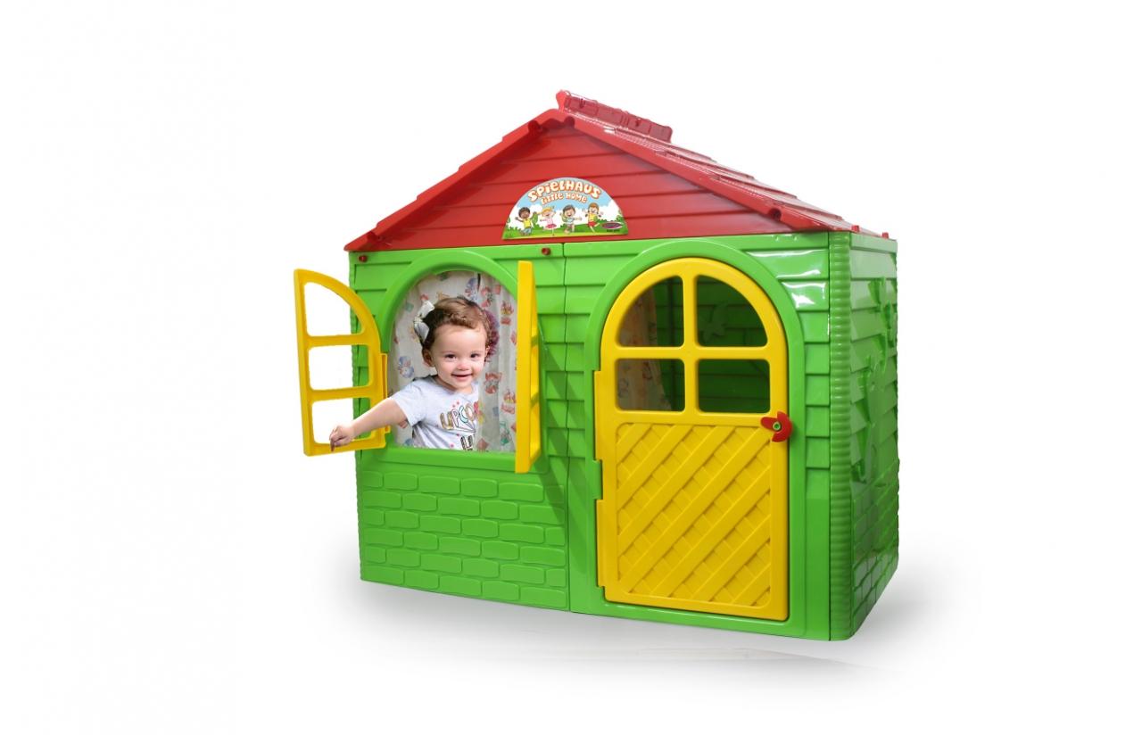 JAMARA Little Home - Standspielhaus - Mädchen - 1,5 Jahr(e) - 1 Tür(en) - Grün - Rot - Gelb