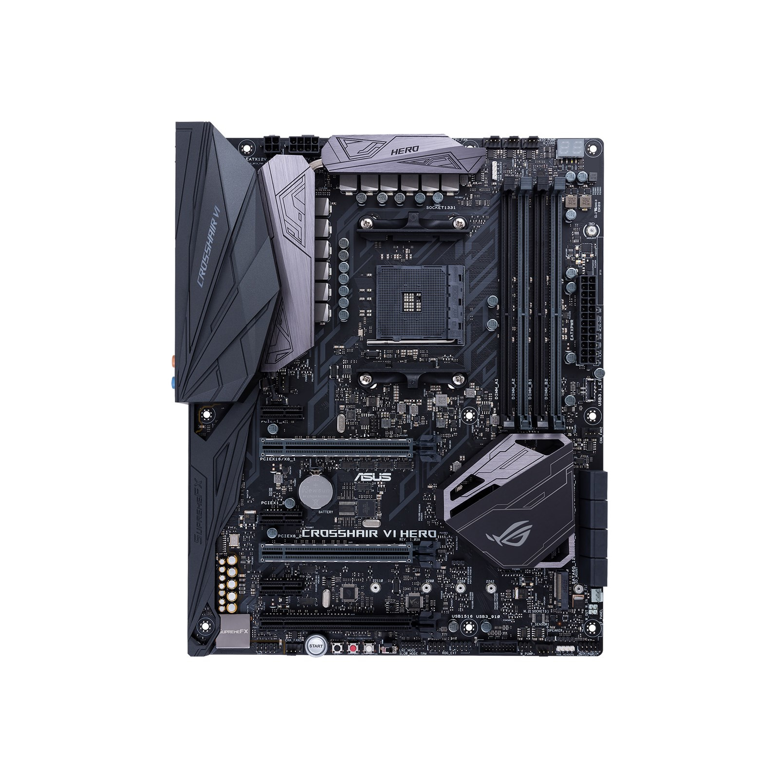 Preview: ASUS ROG CROSSHAIR VI HERO - Motherboard