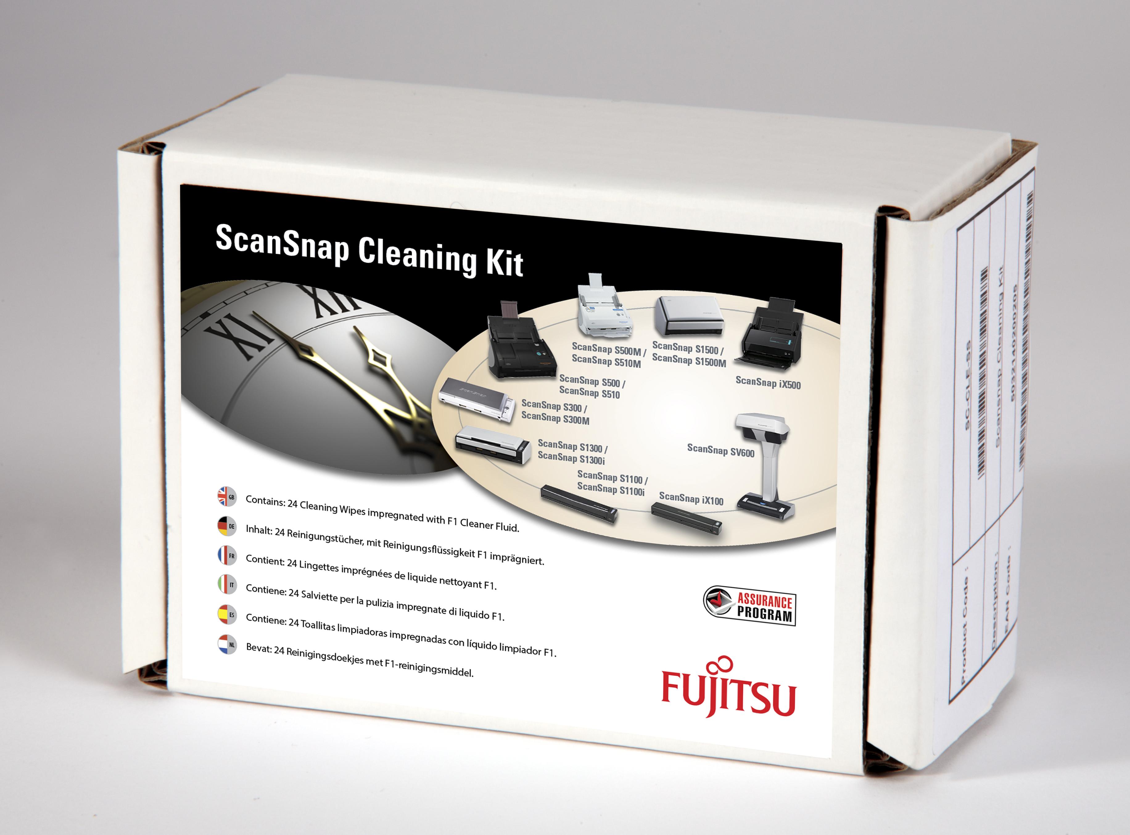 Fujitsu SC-CLE-SS Scanner Equipment cleansing wet cloths Reinigungskit