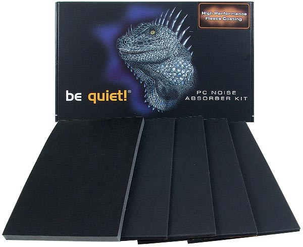 Be Quiet! Noise Absorber Kit - Universal Midi