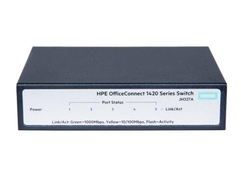 HP Enterprise 1420 5g Switch JH327A Switch Fiber Optic