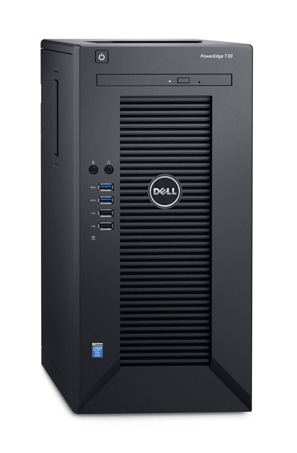 Dell PowerEdge T30 3.3GHz E3-1225V5 290W Mini Tower Server
