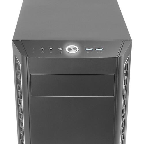 Antec P7 Neo - Midi Tower - PC - Metall - Kunststoff - Schwarz - ATX - EATX - ITX - micro ATX - 16,5 cm