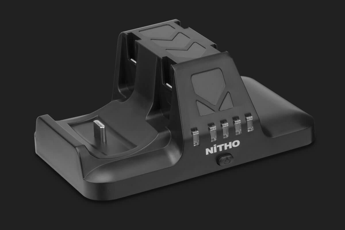 Vorschau: Nitho NSW-CHPR-K - Ladestation - Nintendo Switch - Schwarz - USB