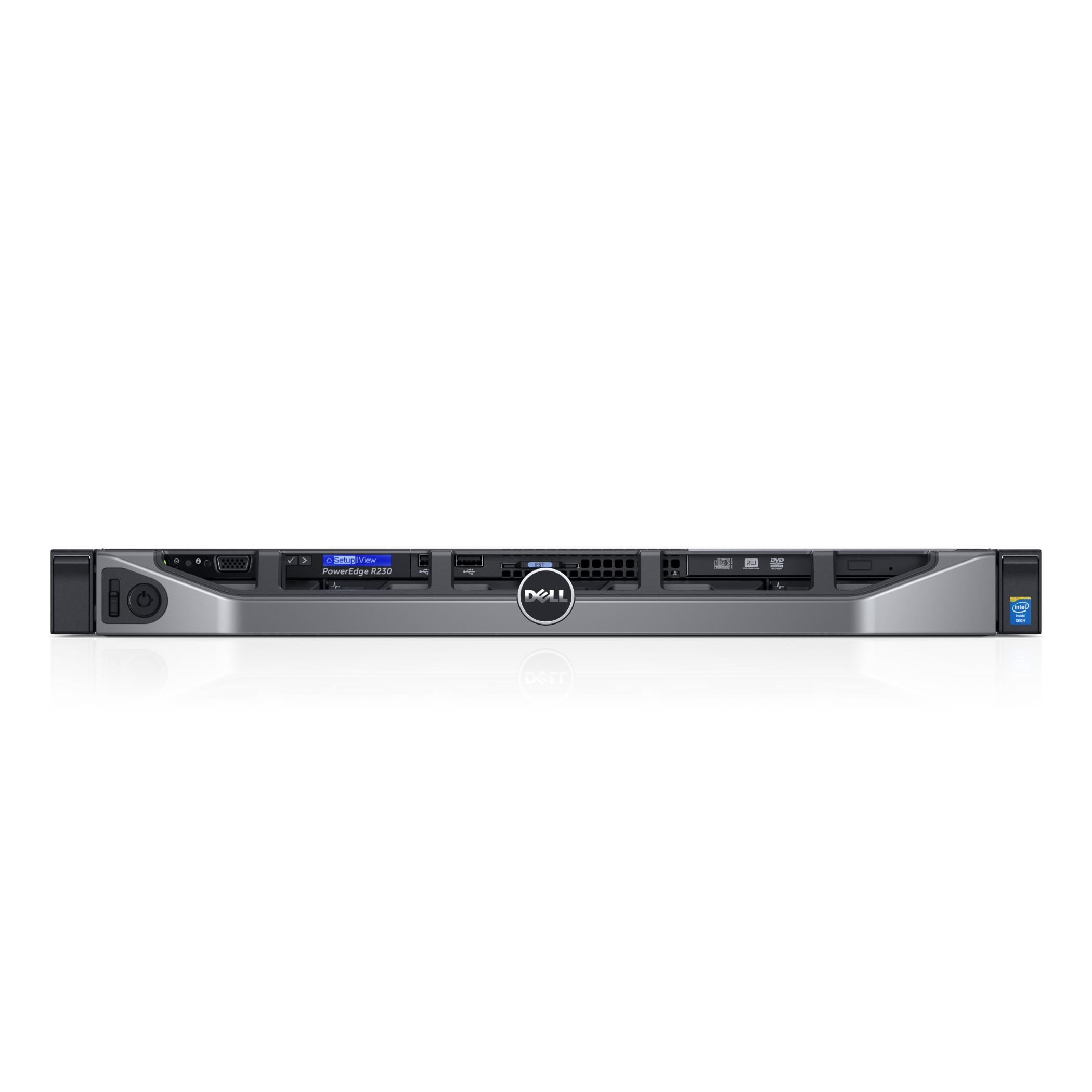 Dell PowerEdge R230 3GHz E3-1220V6 250W Rack (1U) Server