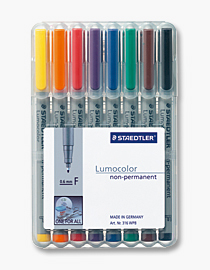 STAEDTLER 316 WP8 - 1 Stück(e) - Schwarz - Blau - Braun - Grün - Orange - Rot - Violett - Gelb - Grau - Polypropylen (PP) - 0,6 mm