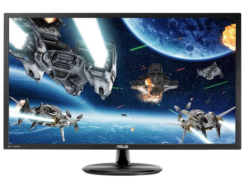 ASUS VP28UQG 28Zoll 4K Ultra HD Schwarz Flach Computerbildschirm