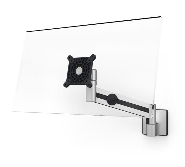 Vorschau: Durable 509023 - 8 kg - 53,3 cm (21 Zoll) - 96,5 cm (38 Zoll) - 100 x 100 mm - Höhenverstellung - Silber