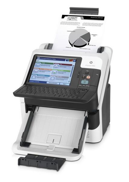 HP ScanJet Enterprise 7000nx Document Capture Workstation - Dokumentenscanner - 600x600 dpi - A4 USB 2.0