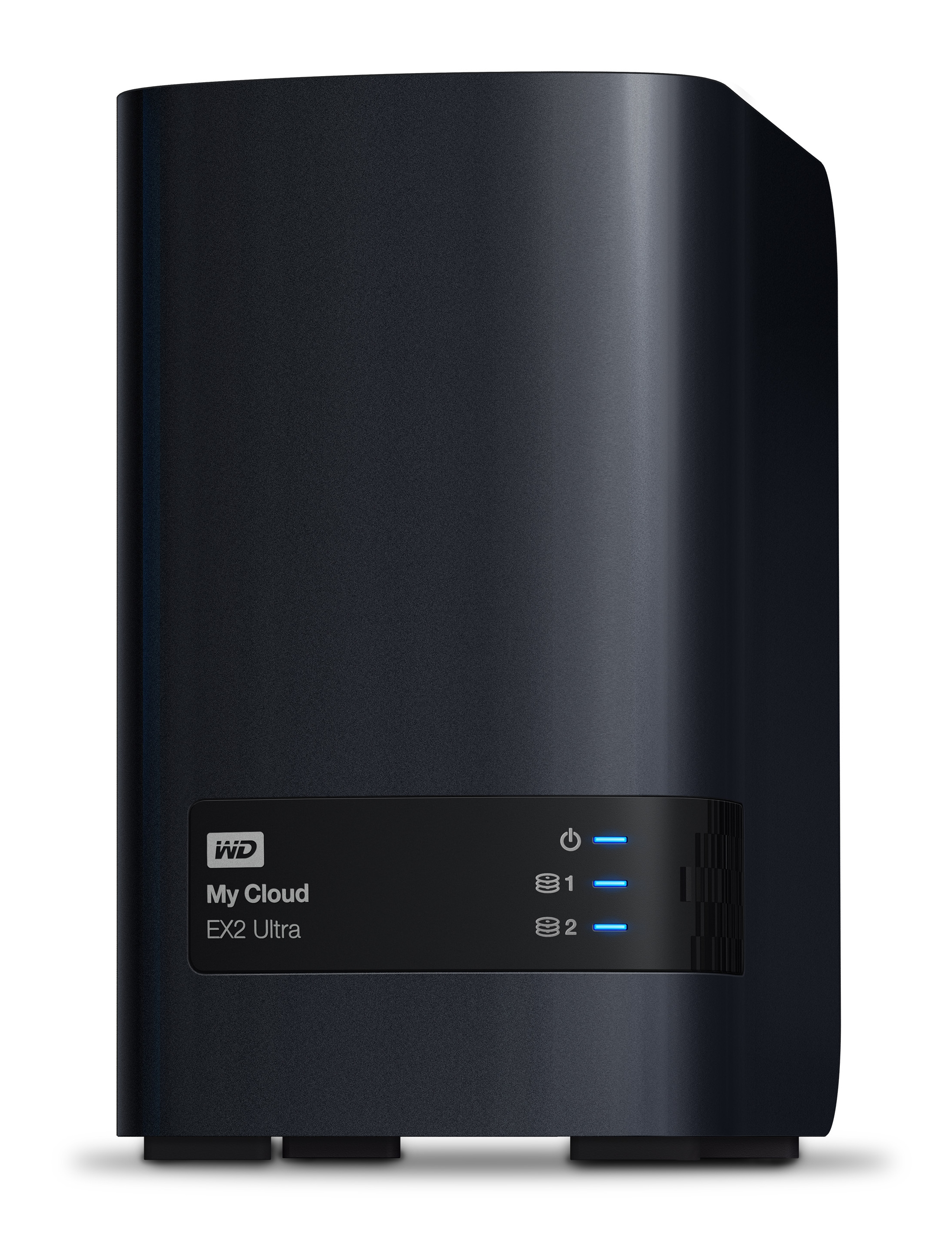 WD My Cloud EX2 Ultra - NAS - Desktop - Marvell - Armada 385 - 6 TB - Schwarz