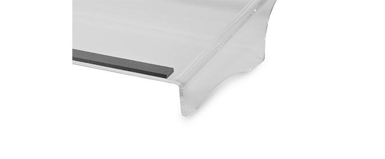 Bakker Q-doc 100 Special - Transparent - 505 mm - 285 mm - 100 mm - 1 kg