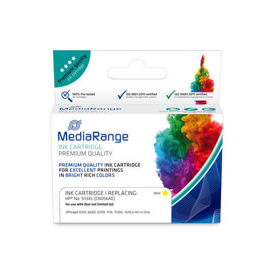 MEDIARANGE MRHP933YXL - Kompatibel - Gelb - HP - 1 Stück(e) - CN056AE