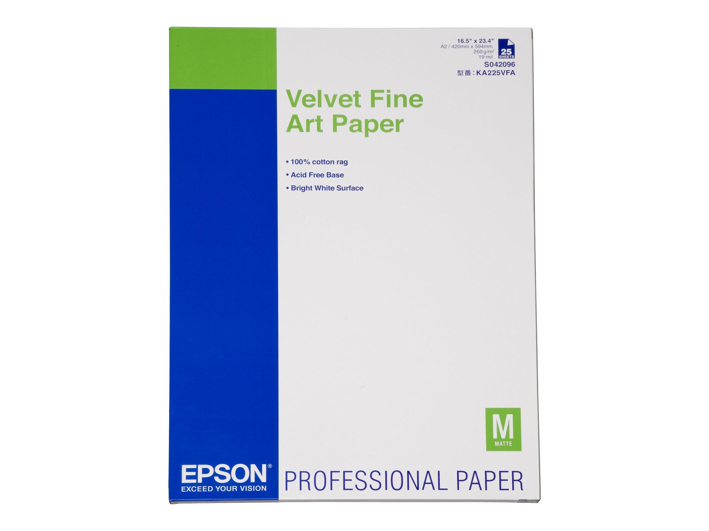 Epson Fine Art Velvet - Velvet