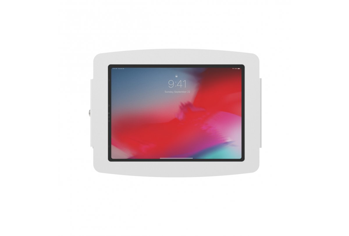 "Compulocks 102IPDSW 25.9 cm (10.2"") White Aluminum Apple iPad 10.2 (2019) Key 100 x 100 mm"