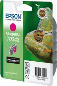 Epson Singlepack Magenta T0343 Ultra Chrome