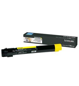Lexmark X950X2YG 24000Seiten Gelb Lasertoner / Patrone