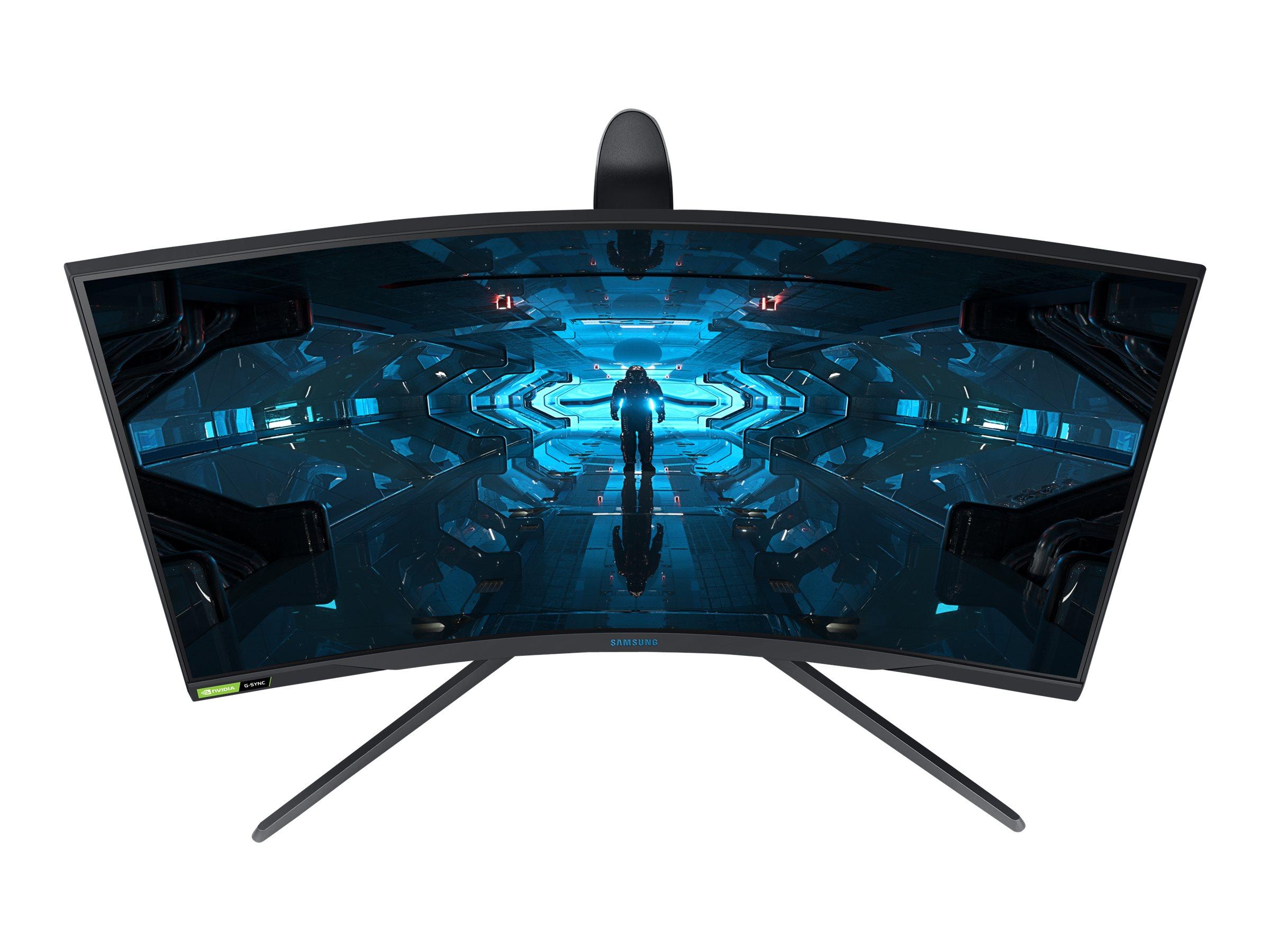 """Samsung Odyssey G7 C27G74TQSR - G75T Series - QLED-Monitor - gebogen - 68 cm (27"""")"""