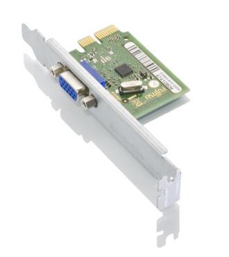 Fujitsu D3463 Eingebaut VGA Schnittstellenkarte/Adapter
