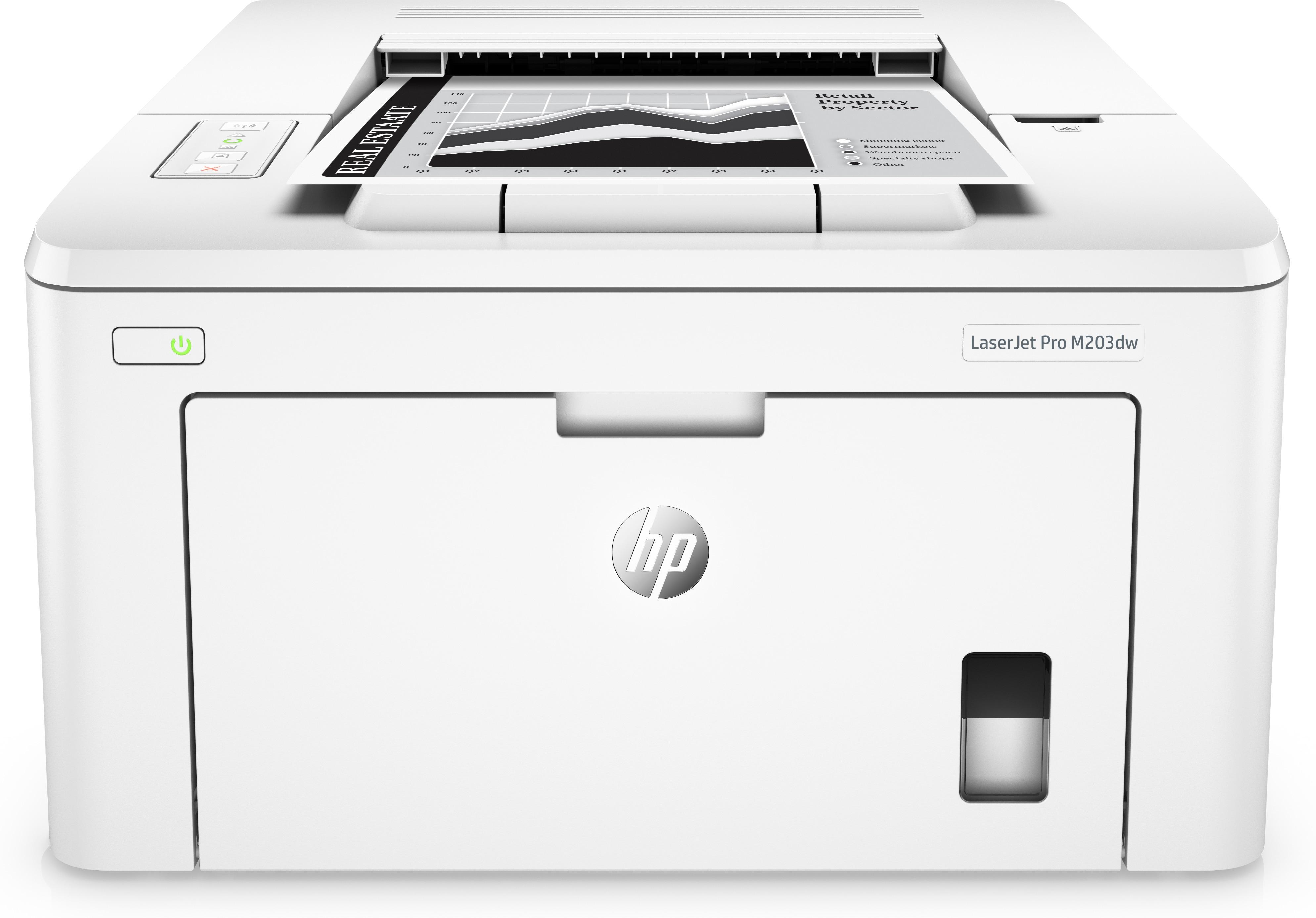 HP LaserJet Pro 200 M203dw, S/W-Laser, A4