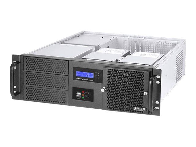 Ultron Realpower RPS19-G3380 - Rack - einbaufähig - 3U - ATX - ohne Netzteil (PS/2)