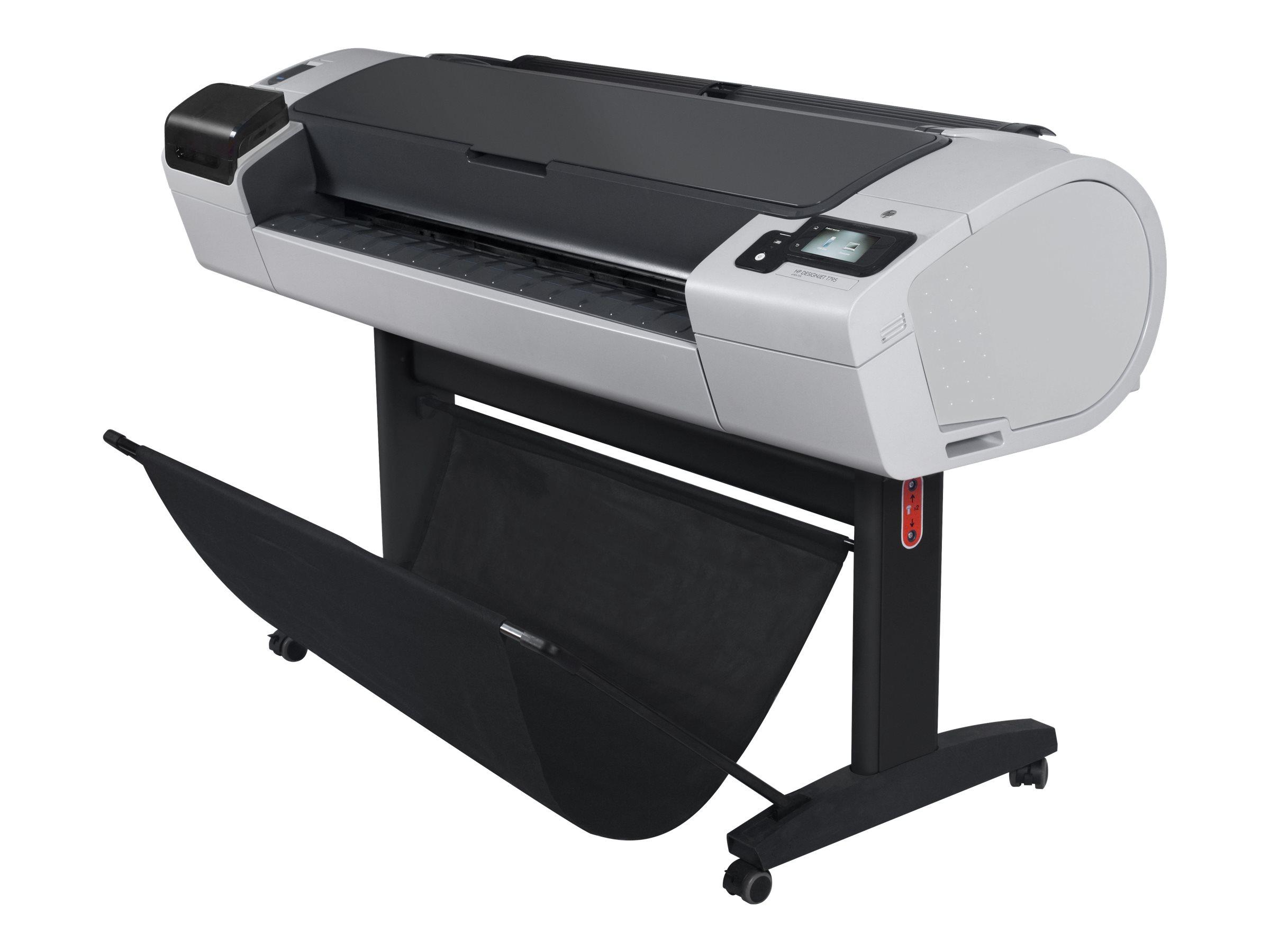 """Vorschau: HP DesignJet T795 ePrinter - 1118 mm (44"""") Großformatdrucker - Farbe - Tintenstrahl - Rolle (111,8 cm)"""