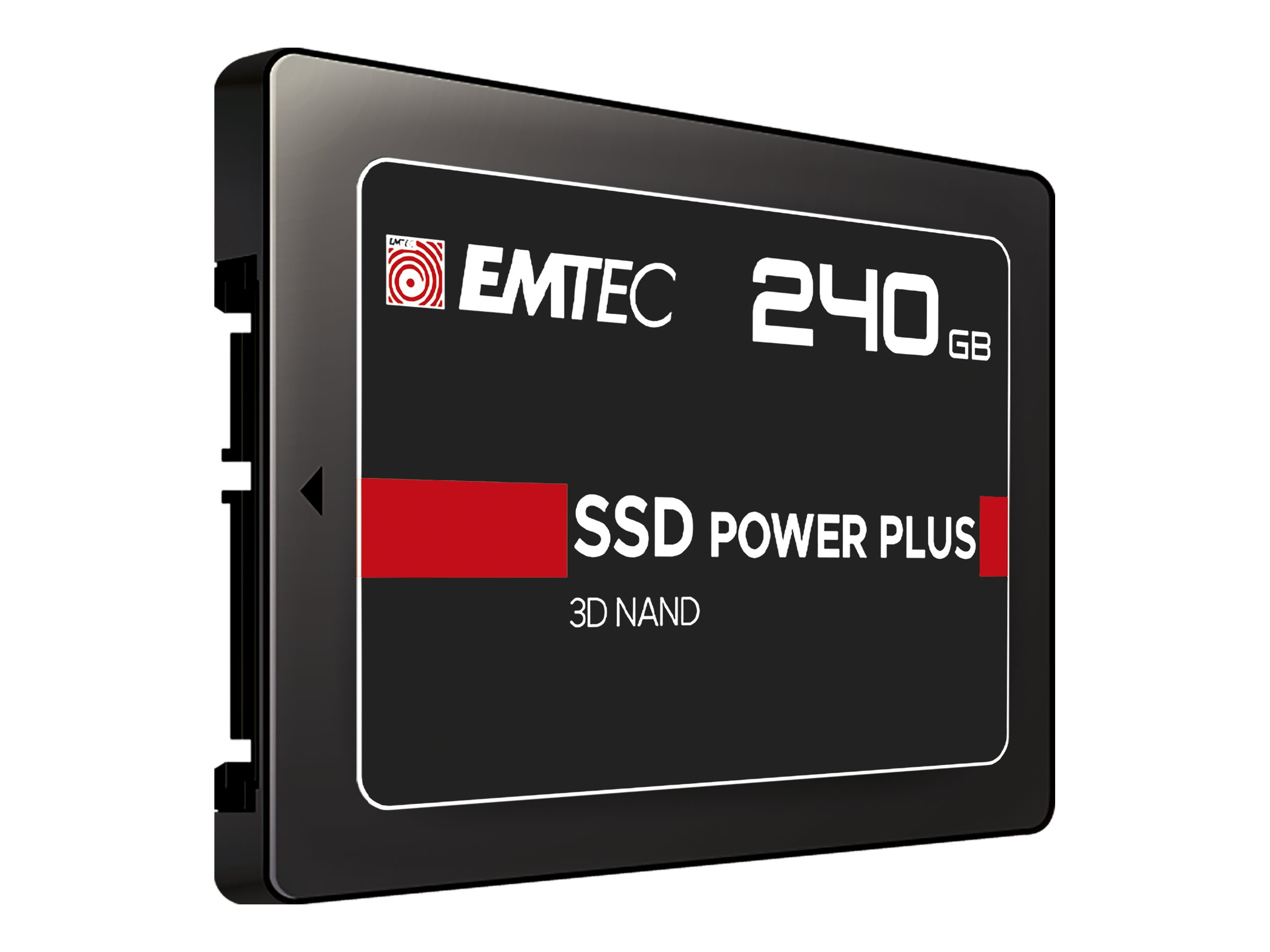 "EMTEC X150 Power Plus 3D NAND - 240 GB SSD - intern - 2.5"" (6.4 cm)"