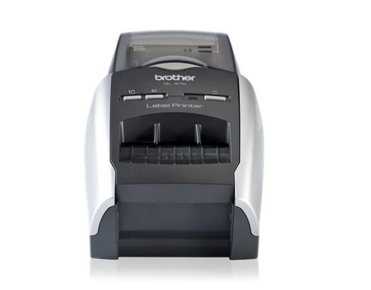 Brother P-Touch QL-570 - Etiketten-/Labeldrucker s/w Etiketten-/Labeldrucker - 300 dpi - 1,13 ppm