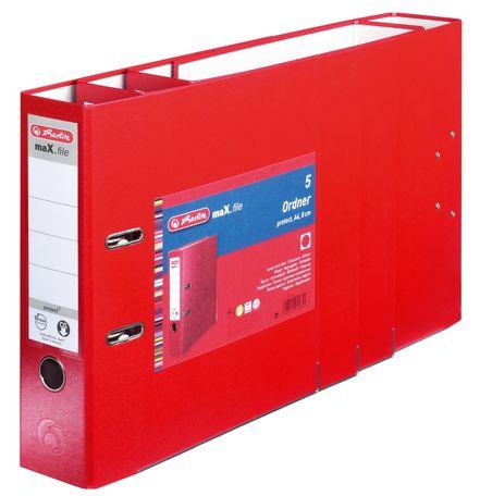Vorschau: Herlitz 9942657 - A4 - Polypropylen (PP) - Rot - 8 cm - 5 Stück(e)