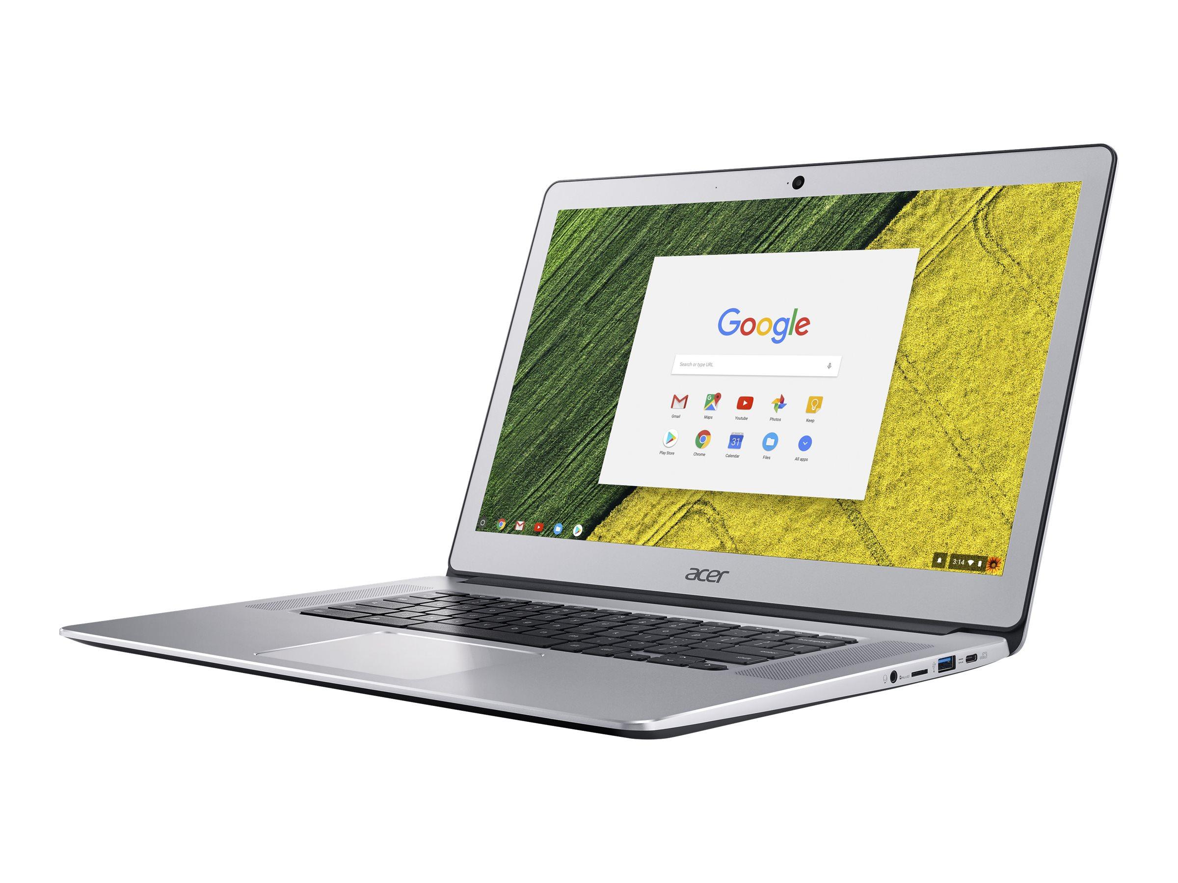 Acer Chromebook 15 CB515-1HT-P58C 1.1GHz N4200 15.6Zoll 1920 x 1080Pixel Touchscreen Silber Chromebook