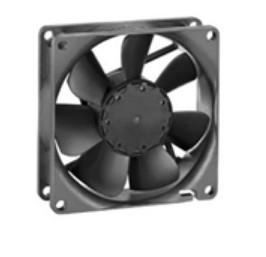 Vorschau: Papst 8412 N - Ventilator - 8 cm - 3600 RPM - 25 dB - 74 m³/h