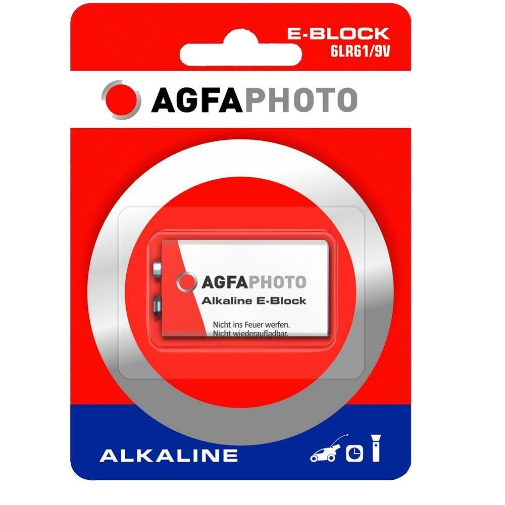 AgfaPhoto Batterie 6LR61 - Alkalisch