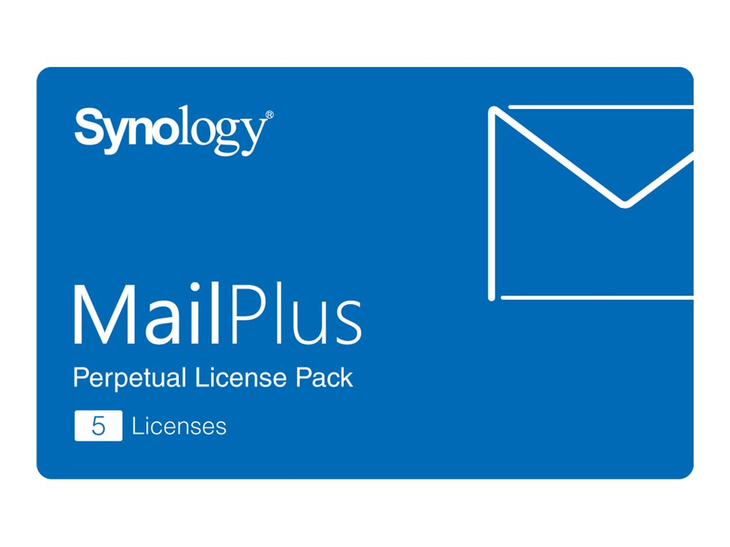 Synology MailPlus License Pack - Lizenz - 5 E-Mail-Konten