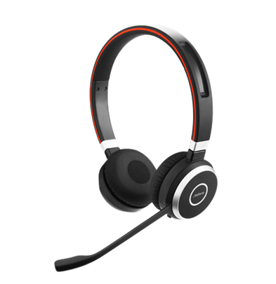 Jabra Evolve 65 MS stereo Trådløs Sort Headset