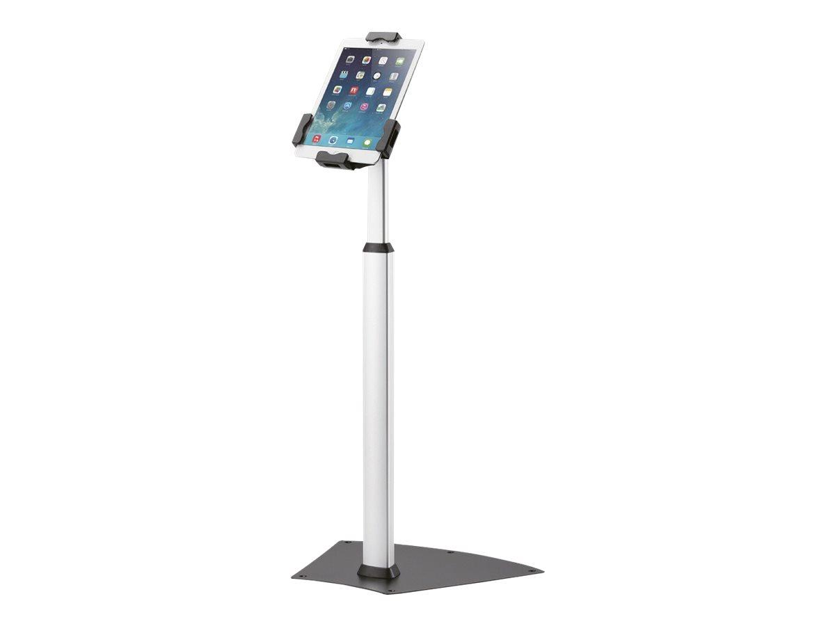 """NewStar TABLET-S200SILVER - Aufstellung für Tablett - verriegelbar - Silber - Bildschirmgröße: 24.6-25.7 cm (9.7""""-10.1"""")"""