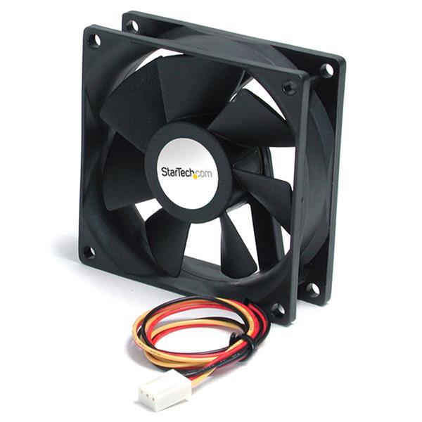 StarTech.com 60mm Gehäuselüfter - Lüfter für PC Gehäuse mit 3-pin Molex Stecker