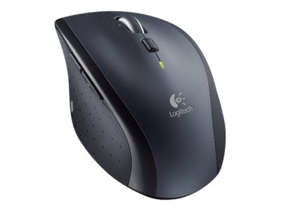 Logitech M705 - Maus - Für Rechtshänder - Laser - kabellos - 2.4 GHz - kabelloser Empfänger (USB)