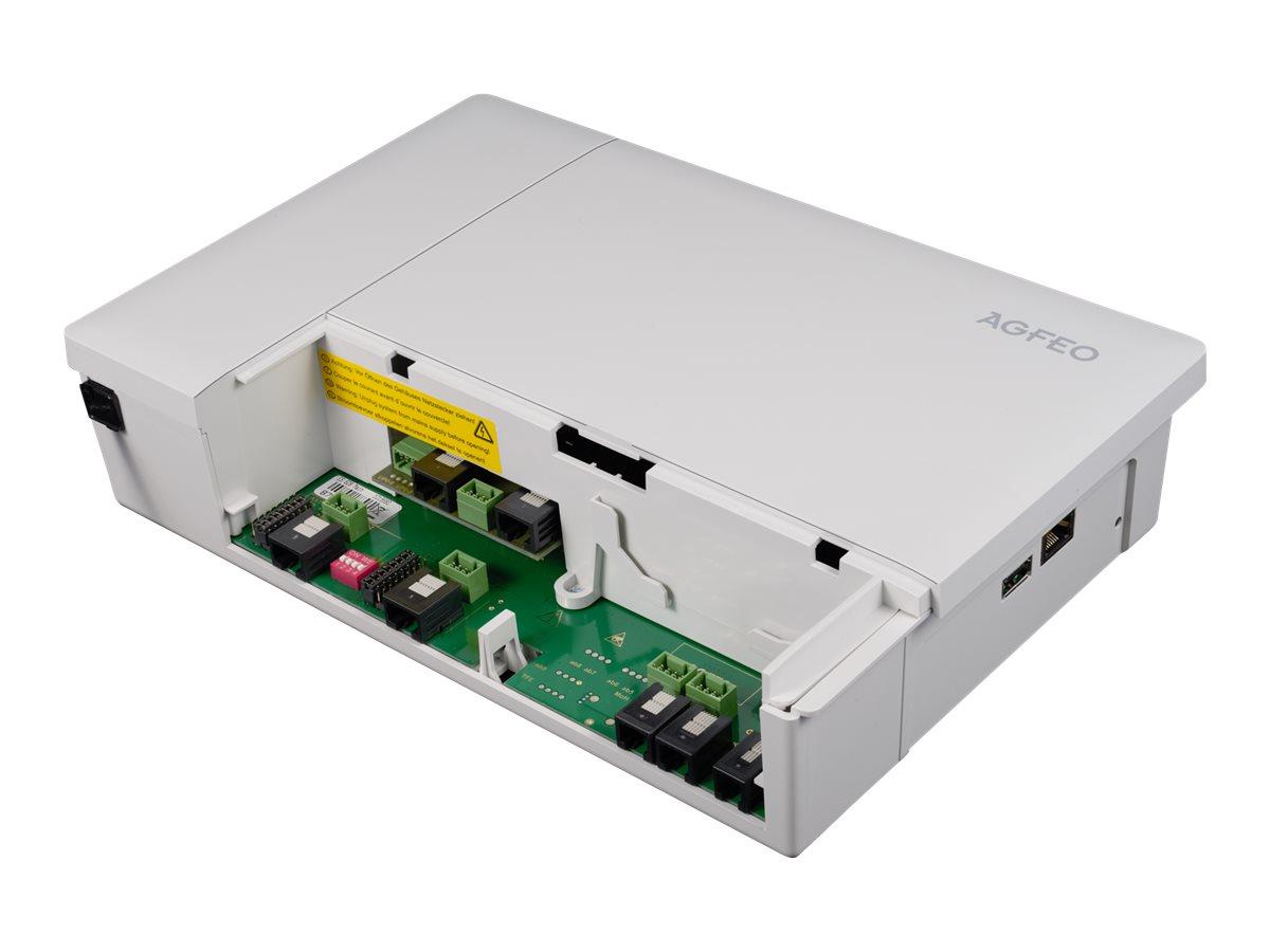 AGFEO ES 628 - Hybrid PBX - 1 x 10/100/1000